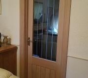 Oak Dordogne internal doors with Oak Ogee facings and skirting boards