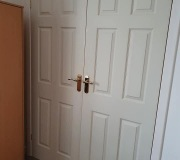 White Woodgrain Doors
