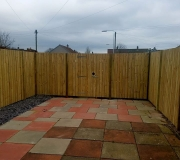 Garden Fencing with Gate