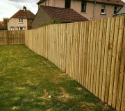 6ft wooden fence