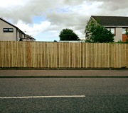 Fencing from roadside