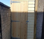 Made to measure wooden shed
