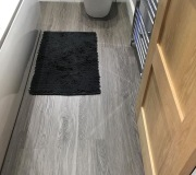 Grey Bathroom Vinyl Flooring