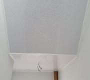 White sparkle PVC ceiling panels