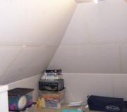 Attic storage space