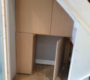Bespoke made to measure cupboards
